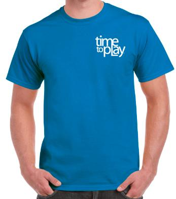 Buy Time to Play T-Shirt